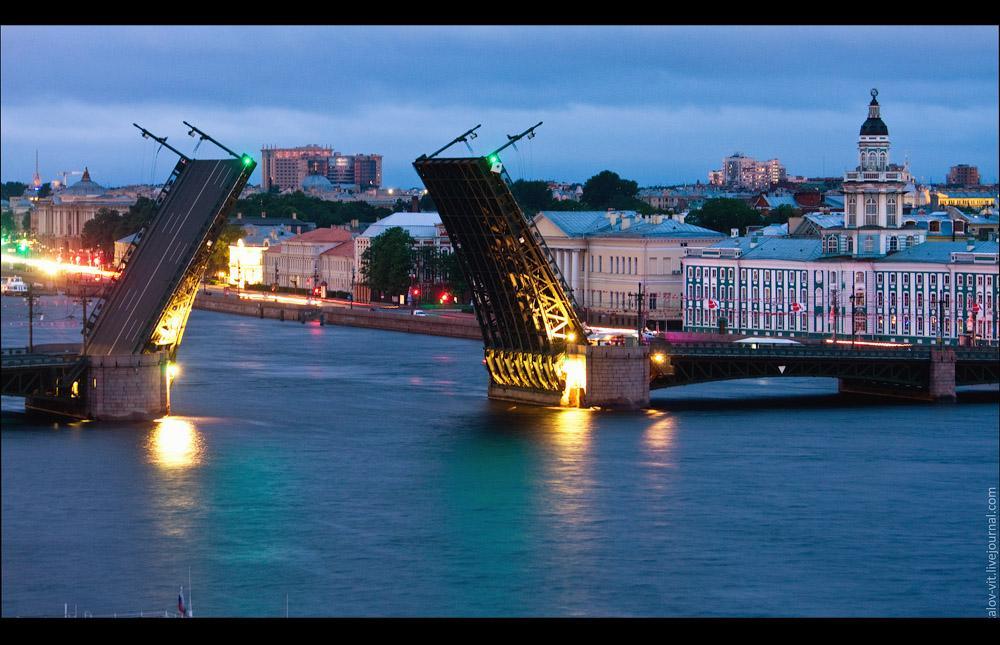 Roofs of Saint Petersburg