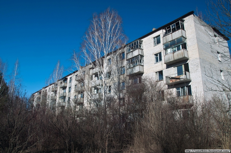 A Village In the Chernobyl Exclusion Zone