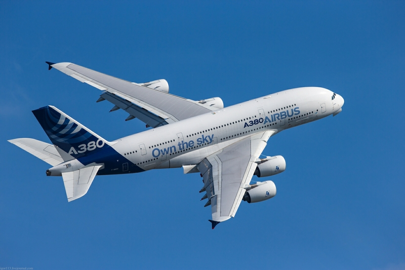 Airbus A380 Owns the Sky