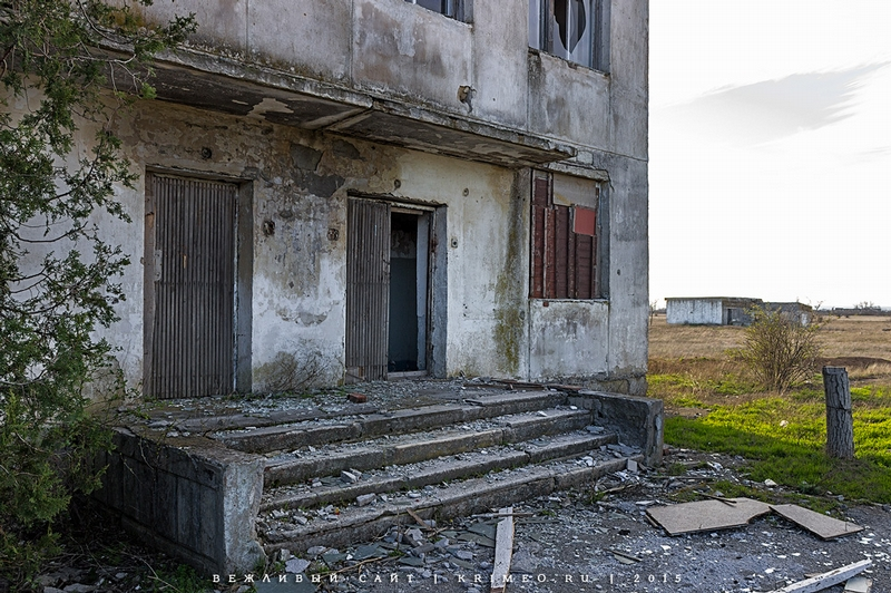 An Abandoned Naval Base in the Crimea