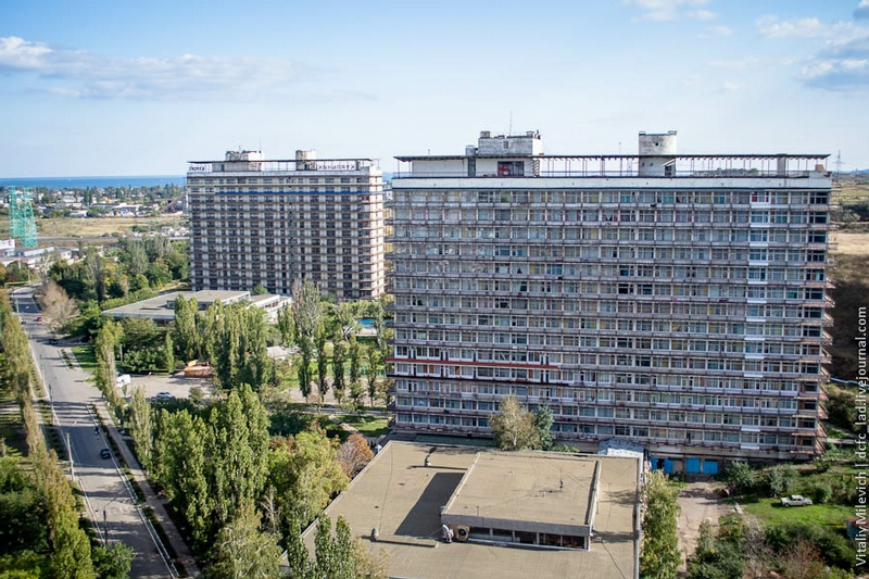 Abandoned Ukrainian Sanatorium, So Famous In Previous Times