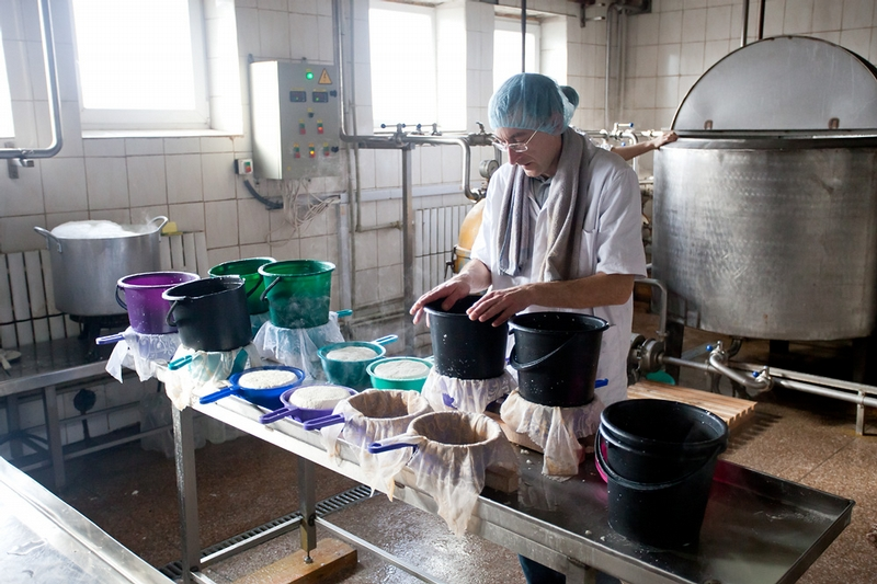 The Secrets of Making Adygei Cheese