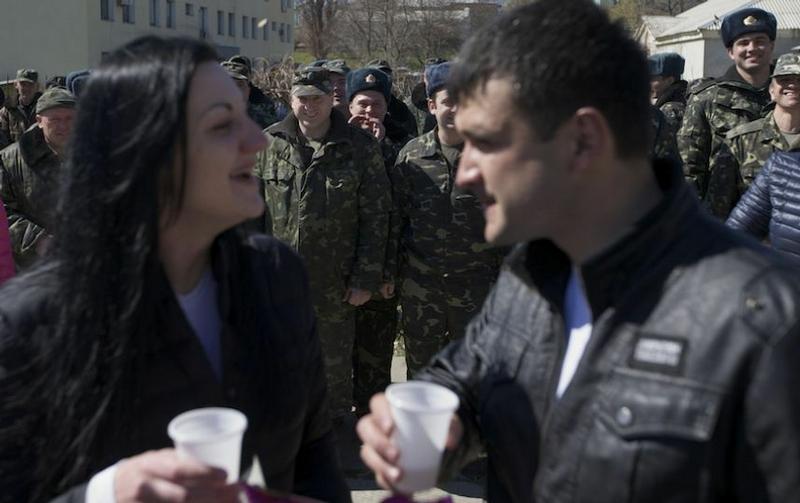 Wedding at the Ukrainian Air Base