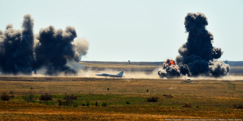 Look, MiG Planes Are Burning!