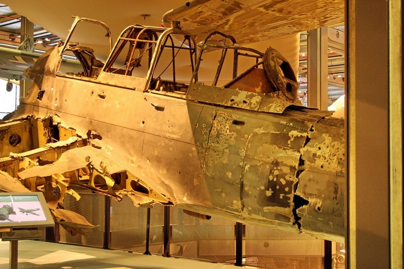 In The Hangar of the Air Forces Museum of Safonovo