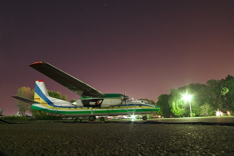 Night at the International Airport