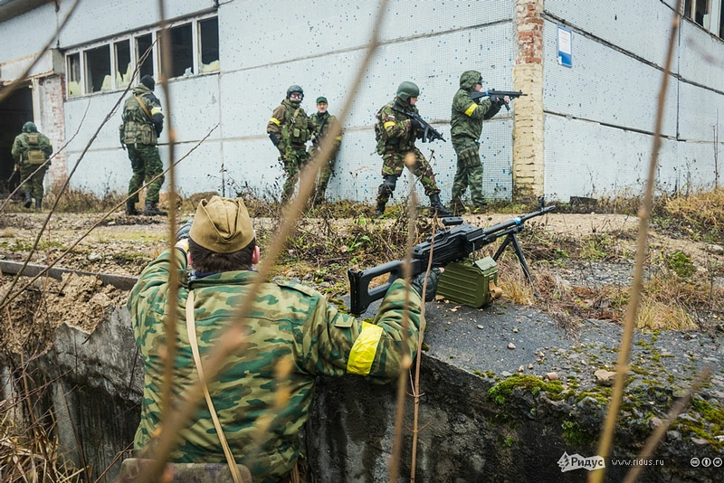 Airsoft Games At The Abandoned Military Unit