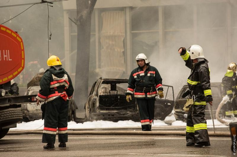 Gasolene Tanker Explosion And Aftermath