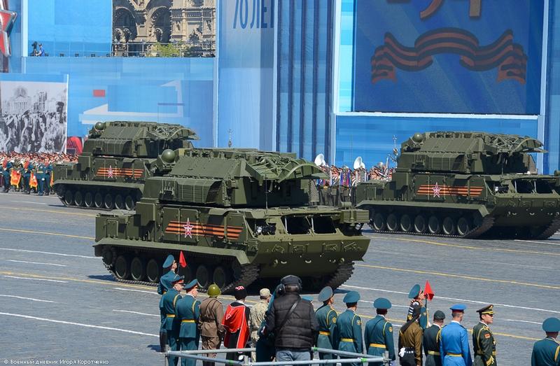 Parade Vehicles From Almaz Antey Group Company