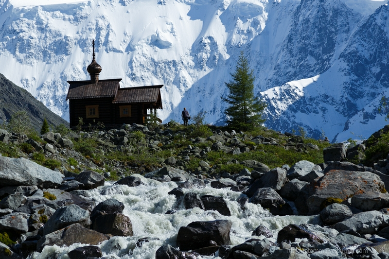 The Chapel For The Brave Climbers