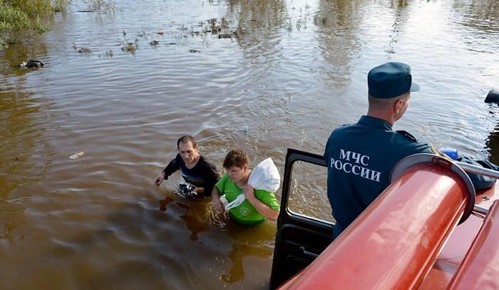 амур наводнение видео