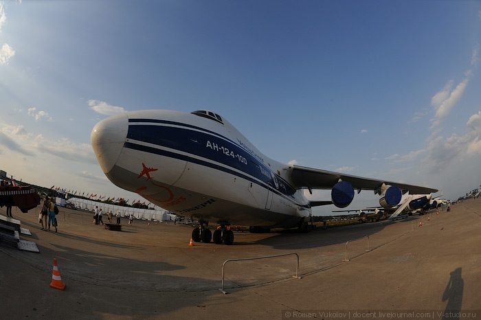The King of Transport: An 124
