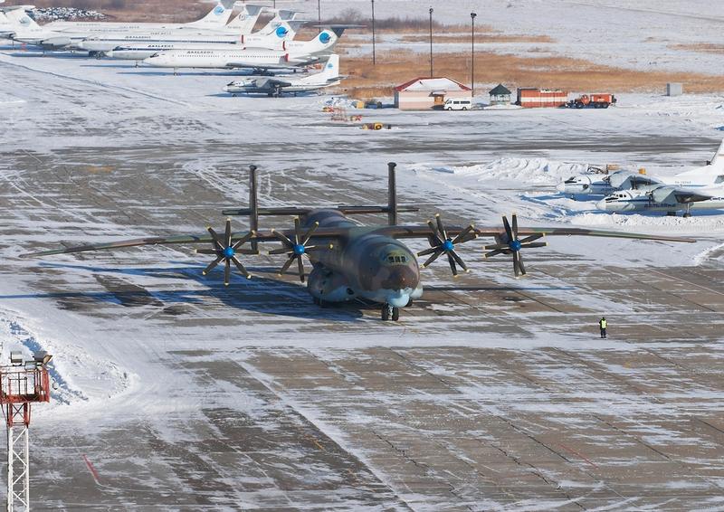 Soviet Heavy Aircraft An 22