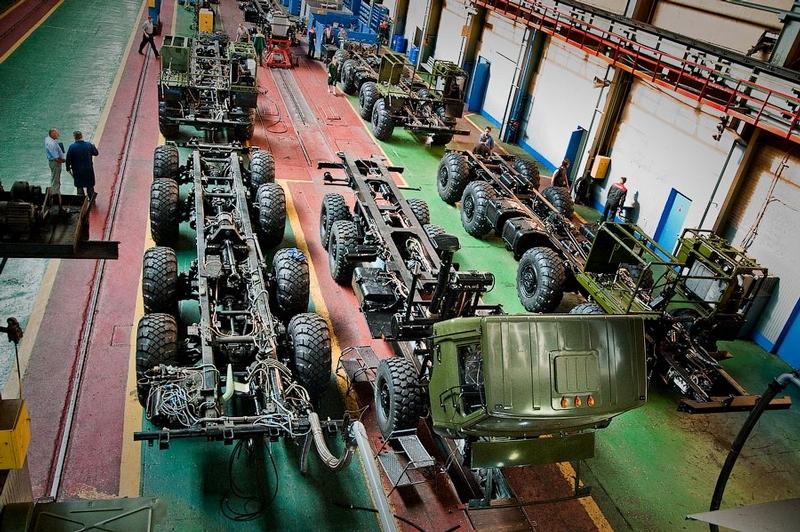 Heavy Belorussian Tractors For Missile Transportation