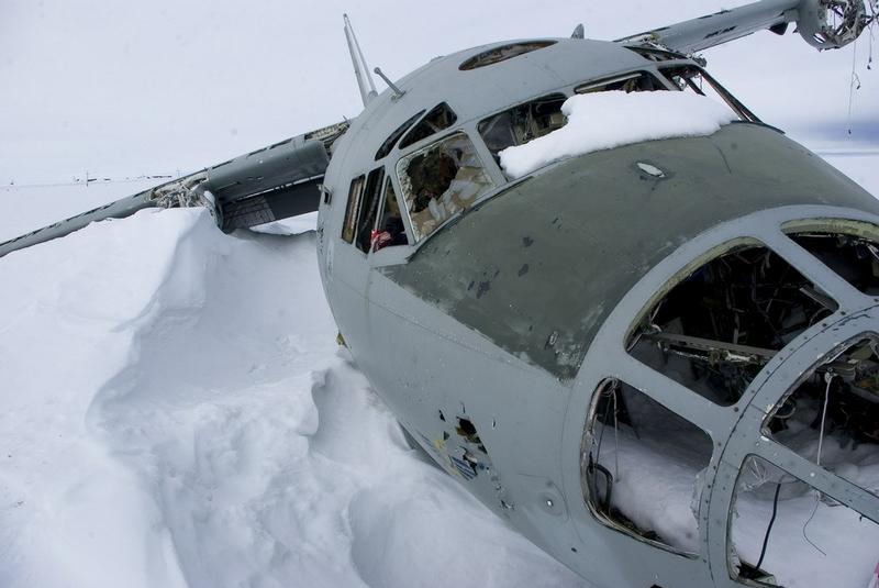 Plane In the Arctic Captivity