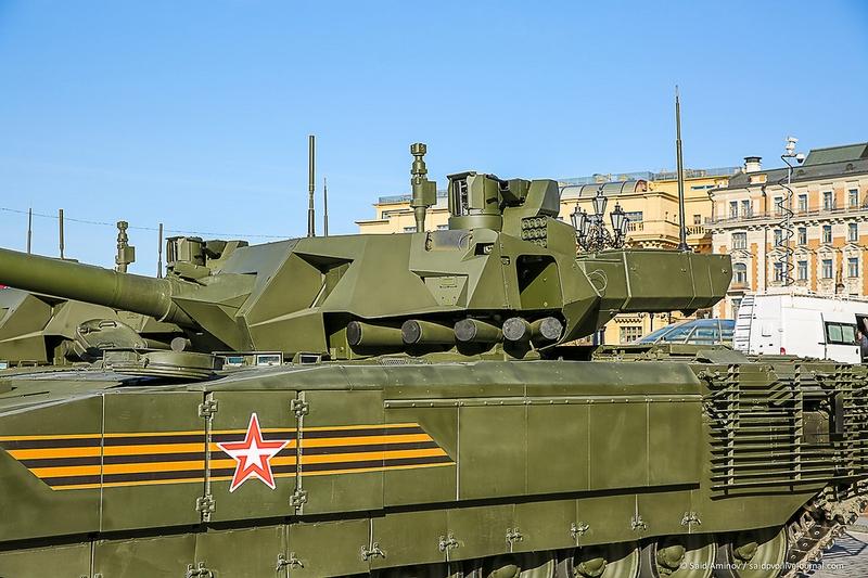 New Armata Tanks