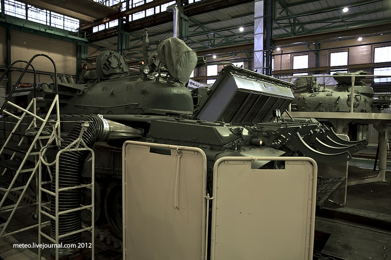 The Place Where Tanks Are Still Repaired