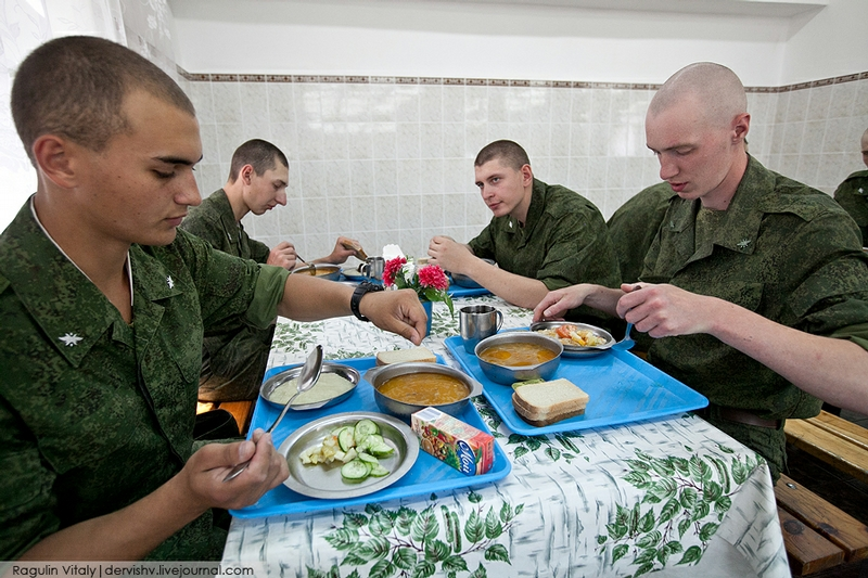 Lunch Time In the Army