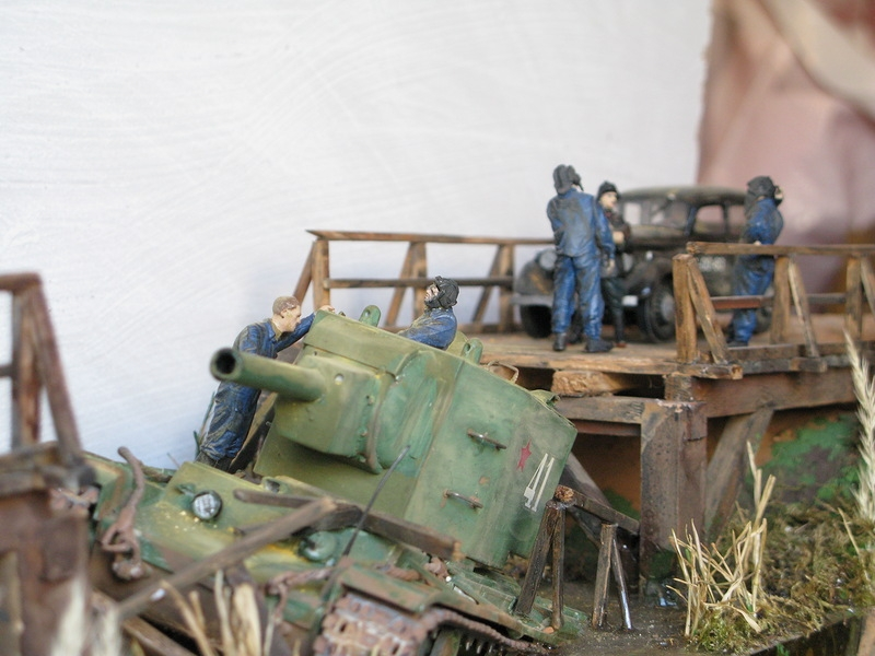 Diorama Inspired By the Heroic Story of the War