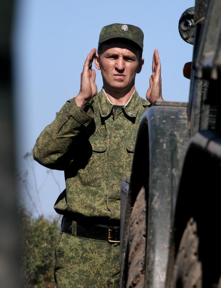 Training of Russian Artillery