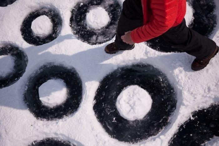 Art Created on Lake Baikal