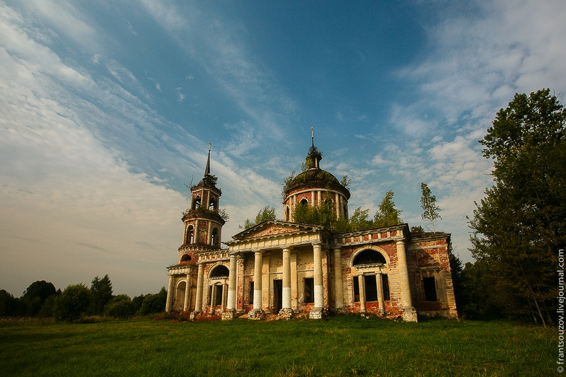 Abandoned Church of the Ascension
