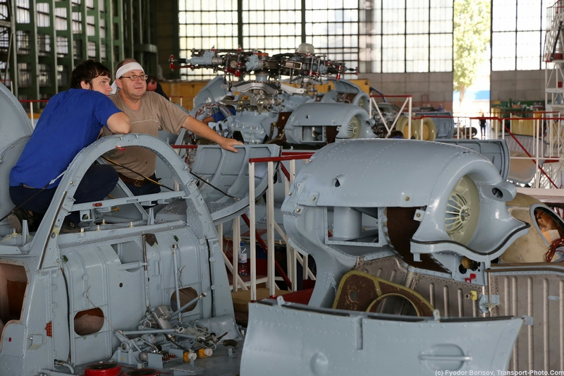 Helicopters Assembly In Pictures