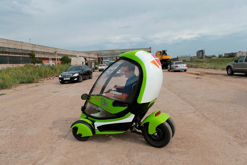 New Russian Electric Vehicles