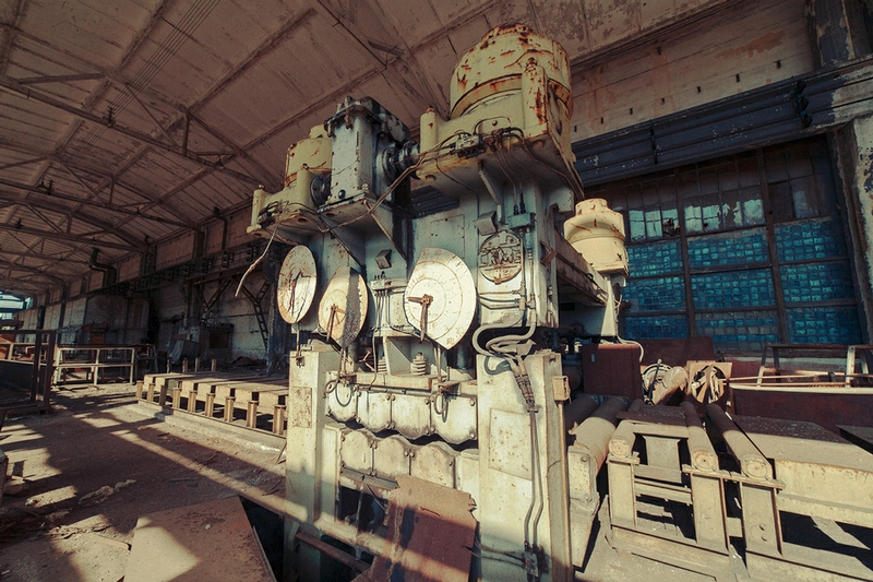 Well Preserved Abandoned Factory of Kiev