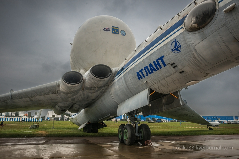 Atlant And Tu 144 Presented to Public At Last