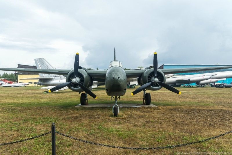 Back to the Monino Air Force Museum