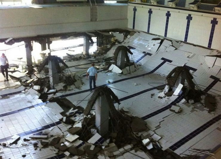 Collapse of the New 8 Million Dollars Pool