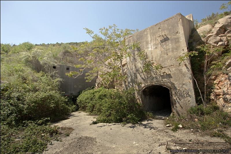 Underground Submarine Base of the Cold War