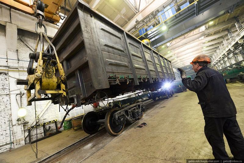 Railway Car Repair Plant