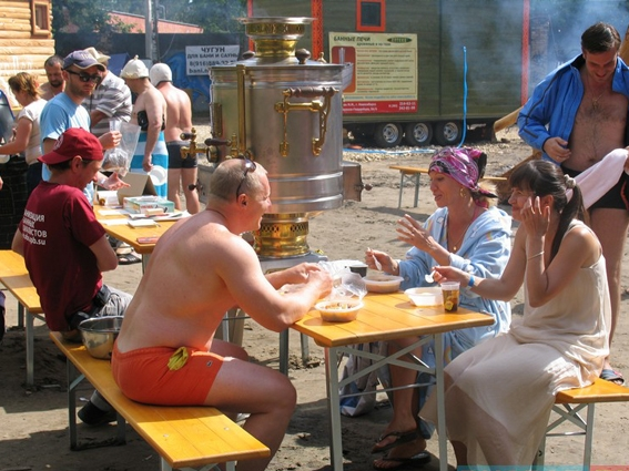 Bathing Festival: Enjoy Your Steam!