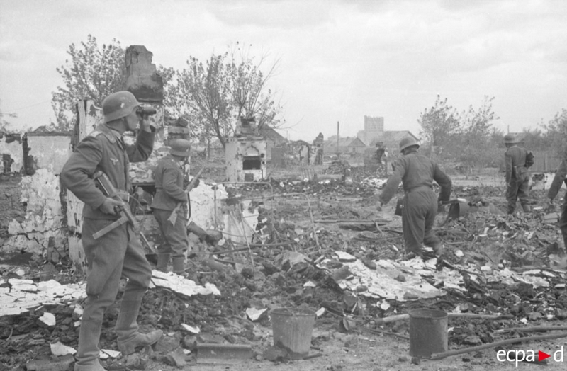 German Pictures of the Stalingrad Battle