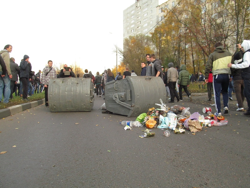 Riot In Moscow Today