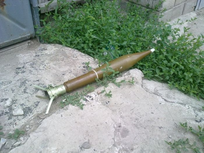 Blind Shells of Donbass