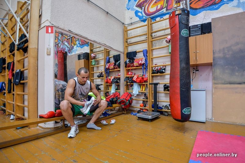 Thai Boxing Couple From Belarus