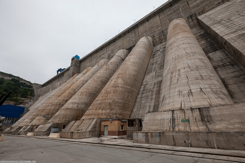 The Largest Hydro Power Plant of the Russian Far East