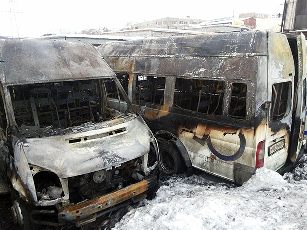 The Stand of Burnt Minibuses