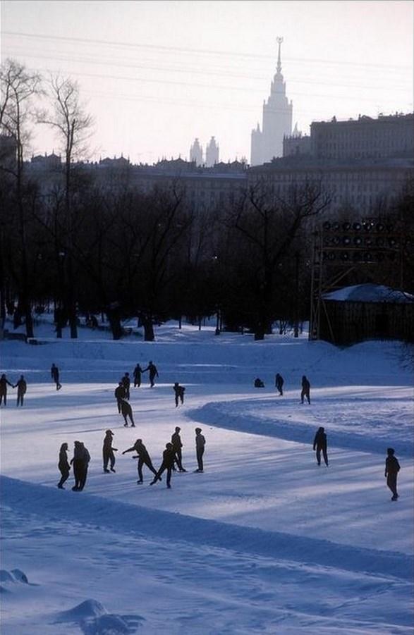 Moscow 1963 Photographed by Burt Glinn