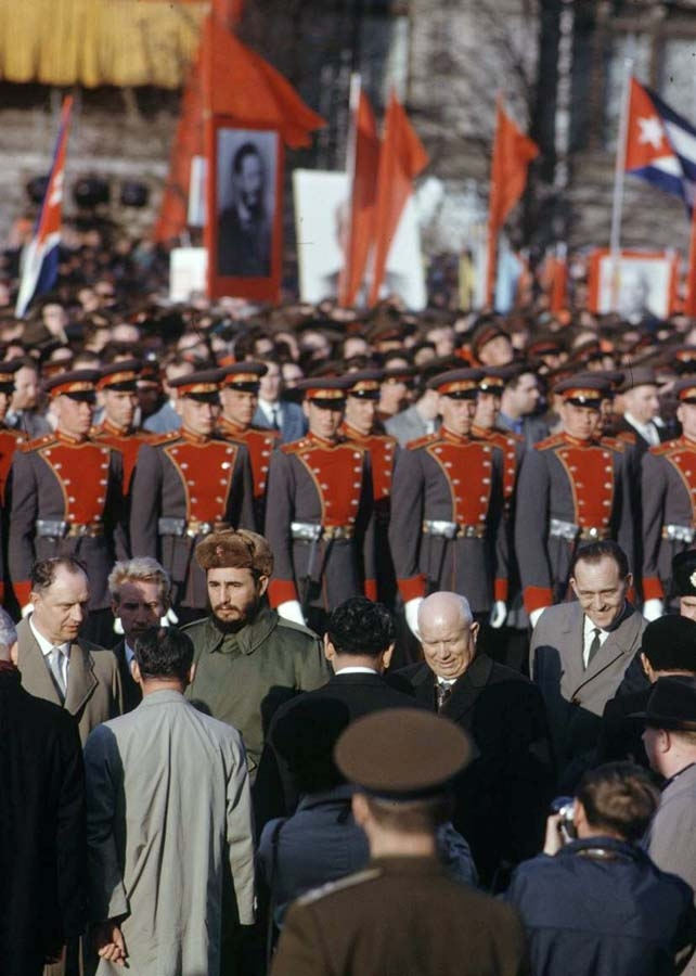 40 Days of Fidel Castro In the USSR
