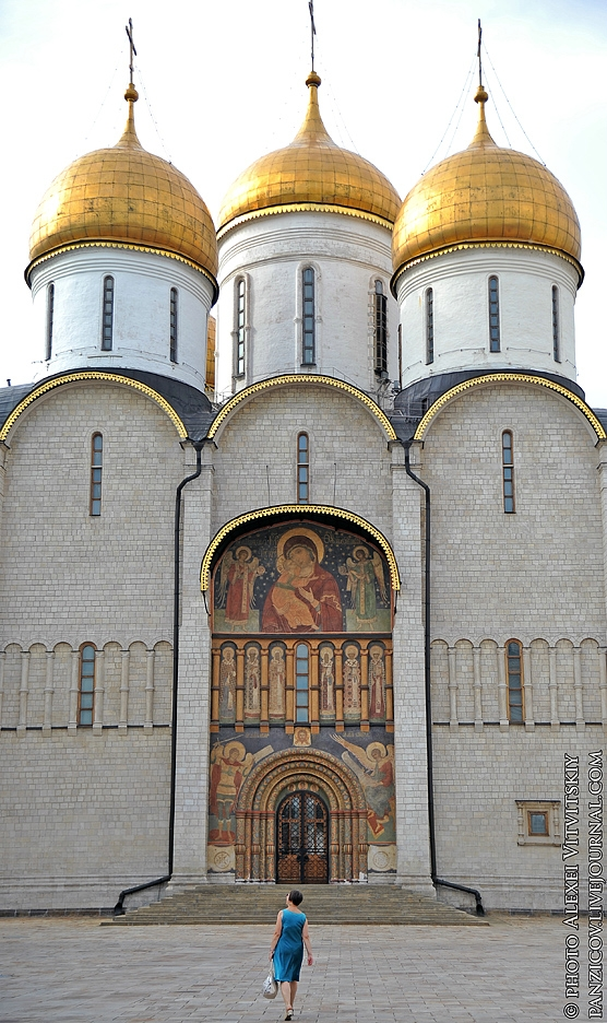 Cathedral Square In the Moscow Kremlin