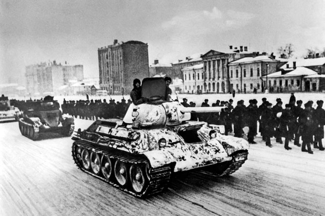 Russian Cities 70 Years Ago And Today