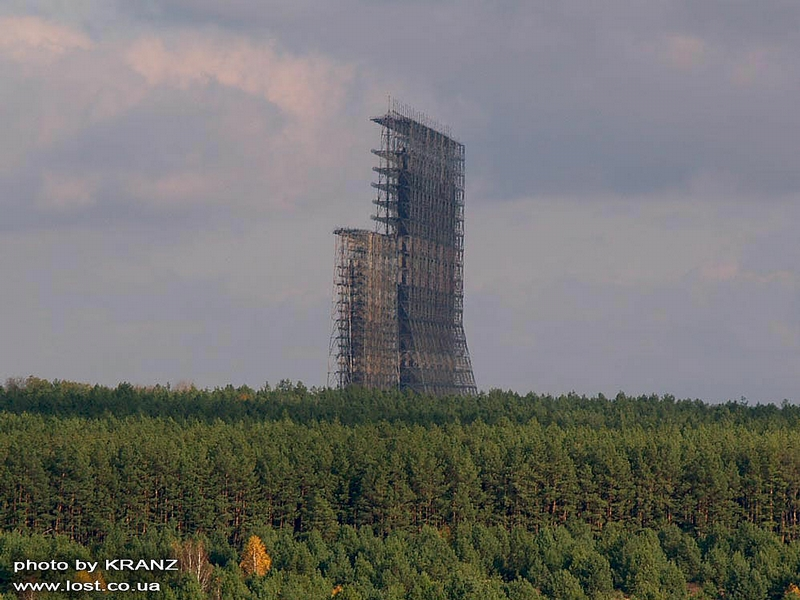 Flying Over Chernobyl