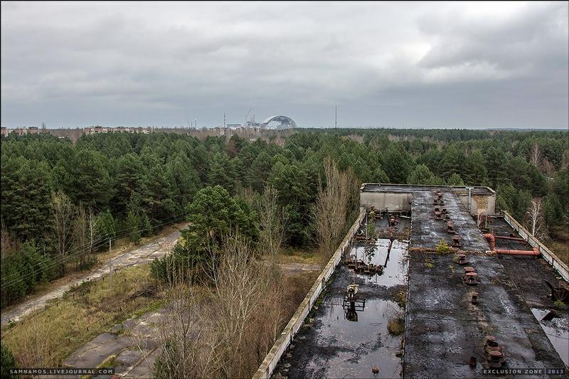 The Huge Factory of Pripyat