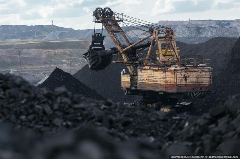 Large Coal Mine of Kazakhstan
