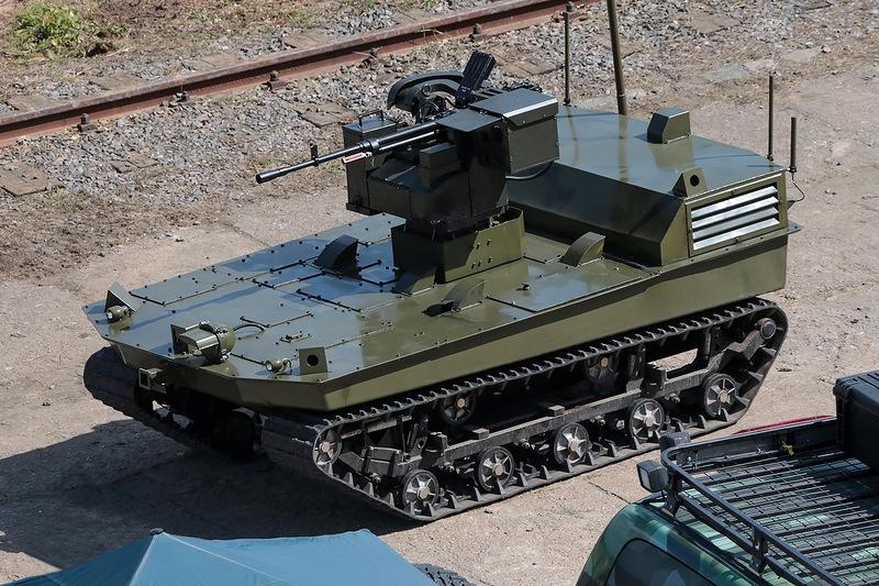 Russian Combat Robots