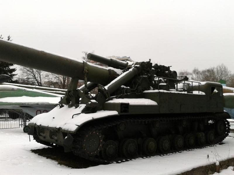Self Propelled Soviet Howitzer